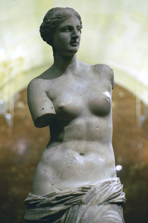 The Venus of Milo at the Louvre